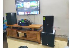 Lắp đặt dàn karaoke gia đình bác Bàn tại Hà Nội (DP6100, MZ66, DSP9000Plus, SW512B, U900 Plus X)