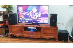 Lắp đặt dàn karaoke gia đình chị Hà tại Hà Nội (JBL XS10, Xli2500, KX180, A120P, VM200, 4TB Plus)