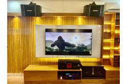 Lắp đặt dàn karaoke, nghe nhạc, xem phim 5.1 cho anh Trọng tại TP HCM(BJ-S768, BJ-S968, BP-S35, A300+,...)