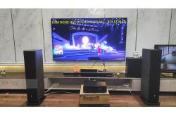 Lắp đặt dàn nghe nhạc anh Thắng tại Hà Nội (Focal Aria 926 Noyer, Denon PMA 1600NE)