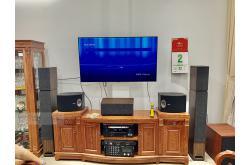 Lắp đặt dàn nghe nhạc cho anh Hậu tại TP HCM (Jamo S809, Jamo S803, Jamo S83, Jamo C912, AVR-X2700H