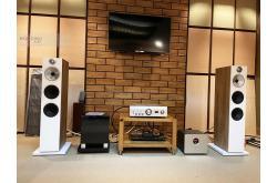 Lắp đặt dàn nghe nhạc cho anh Quang tại TP HCM (B&W 603 S2, Denon PMA-1600NE, DAC Yamaha WXAD-10)