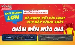 Rẻ rụng rời với loạt cục đẩy công suất giảm đến nửa giá mừng khai trương Showroom Nam Định