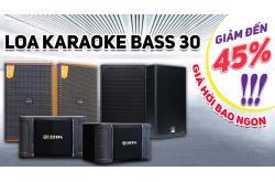Sốt xình xịch: Loa karaoke bass 30 giảm đến 45%, giá hời bao ngon