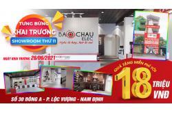 Thư mời tham dự khai trương Showroom thứ 11 tại 30 Đông A – Phường Lộc Vượng – TP Nam Định