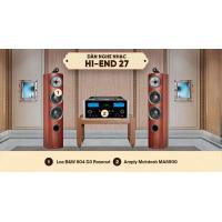 Dàn nghe nhạc Hi-End 27 (B&W 804 D3 + McIntosh MA8900)