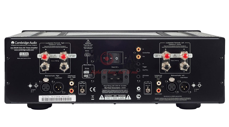 Amply Cambrige Audio Azur 851W