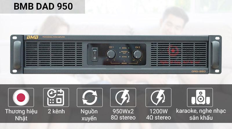 Cục đẩy công suất BMB DAD 950SE