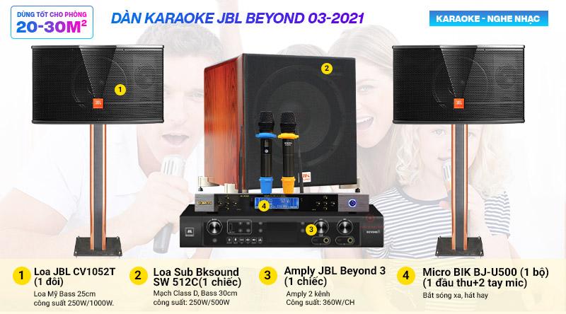 Dàn karaoke JBL Beyond 03-2021