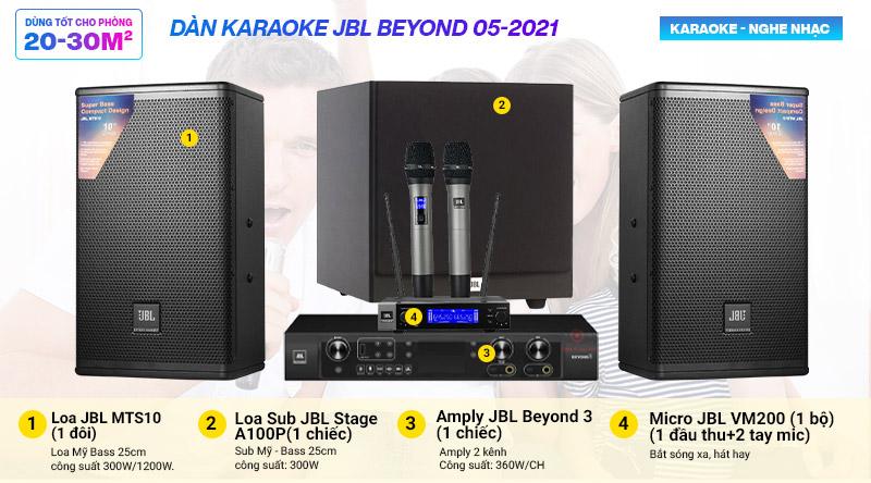 Dàn karaoke JBL Beyond 05-2021