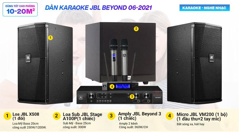 Dàn karaoke JBL Beyond 06-2021