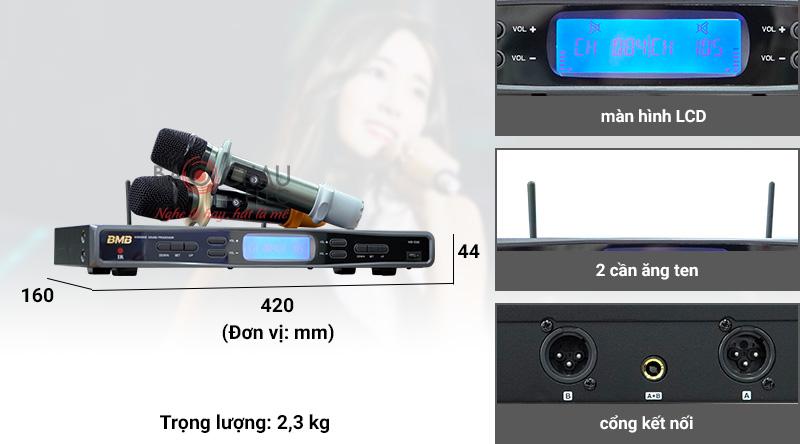 Micro không dây BMB WB-5000 (model 2021)
