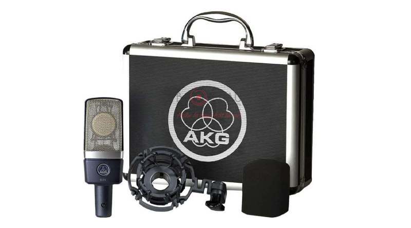 Micro thu âm AKG C214 Pair