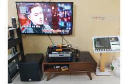 Lắp đặt dàn karaoke anh Phương tại Hà Nội (BMB 880SE, VM620A, X6 Luxury, SW512B, UGX12 Gold...)