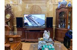 Lắp đặt dàn karaoke anh Thư tại Bắc Ninh (CMAX 4112, Crown T7, VM620A, KX180, W66Plus, VM200,...)