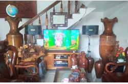 Lắp đặt dàn karaoke anh Tùng tại Thái Bình (BMB 880SE, Crown T5, X6 Luxury, SW612C, UGX12 Gold)