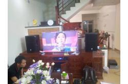 Lắp đặt dàn karaoke gia đình anh Dũng tại Ninh Bình (JBL PRX412, AAP TD8004, BKSound X6 Luxury)