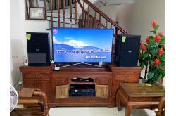 Lắp đặt dàn karaoke gia đình anh Hiệp tại Hà Nội (Domus DP6120, BIK VM620A, DSP9000 Plus)