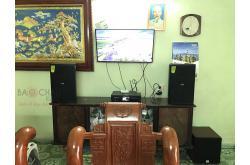 Lắp đặt dàn karaoke gia đình anh Kiên tại Hà Nội (Domus DP6120, BKSound DKA8500, SW512-C)