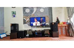 Lắp đặt dàn karaoke gia đình anh Ngạn tại Hải Phòng (Domus DP612S, VM820A, BPR-8500, SW612B, BJ-U550)