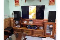 Lắp đặt dàn karaoke gia đình anh Nguyên tại Biên Hòa (CMAX 4110, Crown T5, KX180, NS-SW300, VIP3000)