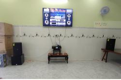Lắp đặt dàn karaoke gia đình anh Phong tại Đồng Nai (DP6120, BKSound DKA 8500, SW312B)