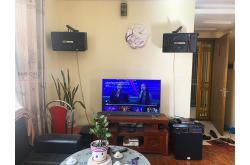 Lắp đặt dàn karaoke gia đình anh Phong tại Hà Nội (BJ-S886II, VM620A, X5 Plus, SW312C, BJ-U100)