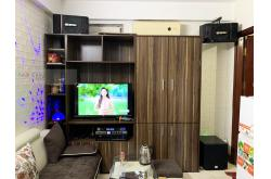 Lắp đặt dàn karaoke gia đình anh Phương tại Hà Nội (BIK BJ-S886II, VM420A, KX6, SW512B, BJ-U500)