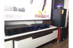 Lắp đặt dàn karaoke gia đình anh Quân tại Hà Nội (JBL XS10, VM620A, BPR-8500, SW512-C, BJ-U100)