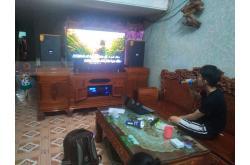 Lắp đặt dàn karaoke gia đình anh Thiện tại Nam Định (Domus DK612, VM820A, BPR8500, SW612C, BJ-U550)