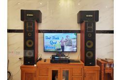 Lắp đặt dàn karaoke gia đình anh Thịnh tại Cần Thơ (BIK BJ-S886II, VM420A, X6 Luxury, BIK BJ-U100)