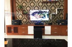 Lắp đặt dàn karaoke gia đình anh Tuấn tại Hải Phòng (BMB 880SE, VM620A, KX180, A120P, VM200)
