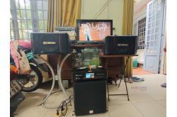 Lắp đặt dàn karaoke gia đình chị Phương tại TP HCM (BIK BJ-S886II, BKSound DKA6500, BKSound SW512B)
