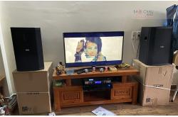 Lắp đặt dàn karaoke gia đình chị Thương tại Biên Hòa (BIK BSP412, VM620A, BPR-8500)