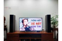 Lắp đặt dàn nghe nhạc cho anh Lợi tại Hà Nội (Klipsch RP5000F, Denon PMA-600Ne)
