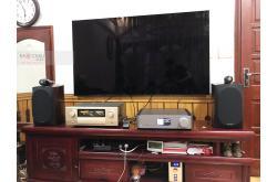 Lắp đặt dàn nghe nhạc cho anh Sủy tại Quảng Ninh (BW 805 D3, Accuphase E480)