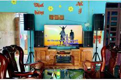 Nâng cấp dàn karaoke gia đình anh Hiệp tại Long An (Lenovo KS750, VM620A)