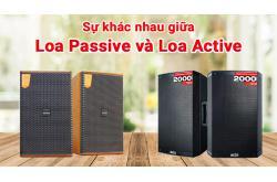 Sự khác nhau giữa Loa Active và Loa Passive? Đâu là lựa chọn hoàn hảo nhất ?