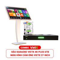 Combo Đầu VietK Plus 6TB + Màn VietK 27 inch