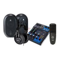 Combo thu âm Mixer Yamaha MG06X - Loa JBL One Series 104 - Micro AKG P120 - Tai nghe AKG K52