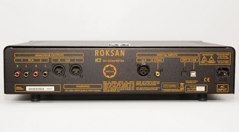Bộ giải mã DAC Roksan K3 DAC