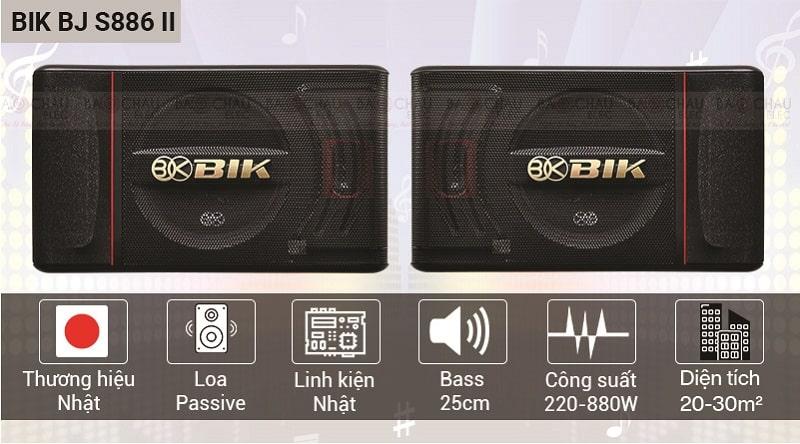 Dàn karaoke gia đình BIK 26