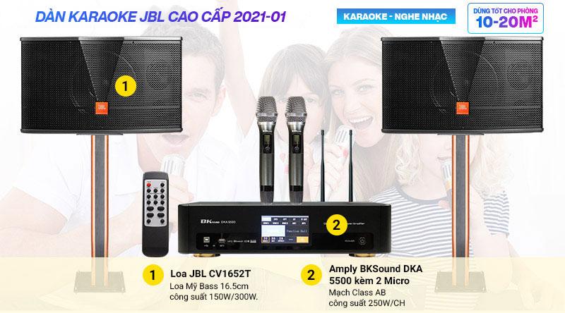 Dàn karaoke JBL cao cấp 2021-01