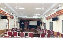 Lắp đặt bộ dàn âm thanh hội trường ở Hải Phòng ( Lenovo KS750, APP MZ-66, Nex FX9 Plus, BCE UGX12)