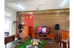 Lắp đặt dàn âm thanh hội trường Ủy ban Nhân dân huyện Cẩm Giàng – Hải Dương