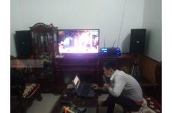 Lắp đặt dàn karaoke gia đình anh An tại Thái Bình (BIK BSP 410, VM620A, BPR8500, SW612B, BJ-U550)