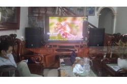 Lắp đặt dàn karaoke gia đình anh Khiên ở Nam Định ( PRX 415M, JBL KX180, Crown T7, JBL VM200)