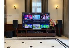 Lắp đặt dàn karaoke gia đình anh Khuê tại Hà Nội (JBL MTS10, Crown T5, JBL KX180, A120P, JBL VM200)