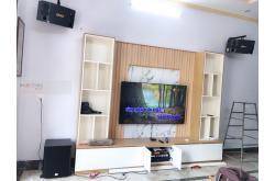 Lắp đặt dàn karaoke gia đình anh Linh tại Nam Định (BMB 880SE, Crown T5, X6 Luxury, SW612B, UGX12 Gold)