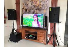 Lắp đặt dàn karaoke gia đình anh Lực tại Nam Định (DP6120, VM620A, X6 Luxury, SW512B, U900 Plus X)